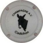 Capsule CHAMPAGNE A.V Cadichon VUIDART Alain 1326