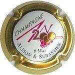 Capsule CHAMPAGNE AN2000 6 MAI ALISON ET SEBASTIEN Inconnue120 819