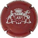 Capsule AV CHAMPAGNE REUIL 03 26 58 01 02 ALLIOT-VINCENT 1652