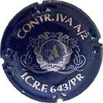 Capsule CONTR.IVA A/2 I.C.R.F. 643/PR R.I. ICAS A CANTINE AMADEI 1050