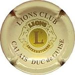 Capsule LIONS CLUB CALAIS DUC de GUISE INTERNATIONAL L ARLETTE (La Fée d') 837