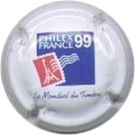 Capsule PHILEX FRANCE 99 Le Mondial du Timbre AUBRY Jean et Fils 95
