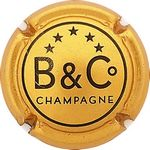Capsule B&C° CHAMPAGNE BANNIERE Christian 1875