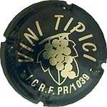 Capsule VINI TIPICI I.C.R.F. PR/1039 BERGAMASCHI 1058
