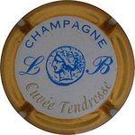 Capsule CHAMPAGNE LB Cuvée Tendresse BRISON Louise 118