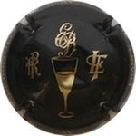 Capsule CHAMPAGNE AY FRANCE AY PR EB LF BRUN Edouard 122