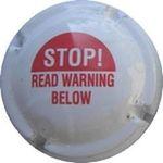 Capsule STOP! READ WARNING BELOW CANANDAIGUA WINE 686
