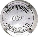Capsule Champagne CD CHARLES VII CANARD-DUCHENE 123