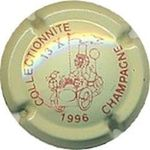 Capsule COLLECTIONNITE 13 X 1996 CHAMPAGNE Charleville Salon collectionnite 1996 687