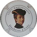 Capsule 150ème Anniversaire Duchesse d'Uzès CHAMPAGNE BOURSAULT 1847 - 1997 CHATEAU DE BOURSAULT 1028