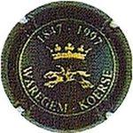 Capsule 1847-1997 WAREGEM - KOERSE CHATEAU DE BOURSAULT 148