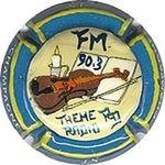 Capsule CHAMPAGNE LS FM 90.3 TEHME RADIO RD CHEURLIN L.S. 846