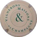 Capsule VIGNERONS & MAISONS DE CHAMPAGNE MARTIN-HUGUENOT (CIVC) 1303