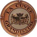 Capsule LA CUVEE GRANDISSIME CLICQUOT-PONSARDIN (Veuve) 160
