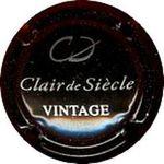 Capsule CD Clair de Siècle VINTAGE COTTET-DUBREUIL 851