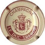 Capsule CHAMPAGNE LE DUC TREBOR RC CUDEL 1426