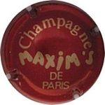 Capsule CHAMPAGNE MAXIM'S DE PARIS DE CASTELLANE - MAXIM'S 179