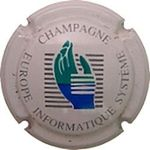Capsule CHAMPAGNE EUROPE INFORMATIQUE SYSTEME DEGENNE-DAMIEN 857