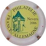 Capsule PHILATELIE FRANCE ALLEMAGNE Nevers 2006 DE SAINT LEGER 785