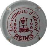 Capsule Les copains d'abord REIMS 1980 1995 DROUOT-SECONDE 203