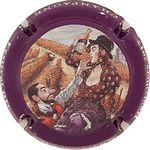 Capsule CHAMPAGNE Festival BD Hautvillers 2012 TRIBAUT G. 1865