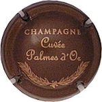 Capsule CHAMPAGNE Cuvée palmes d'Or FEUILLATTE Nicolas 215