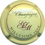 Capsule CHAMPAGNE GFLM MILLESIME 1996 GAIDOZ-FORGET 828