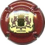 Capsule CHAMPAGNE DES LOUPS LOUVOIS GAUDRILLER Serge 893