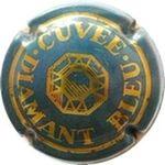 Capsule CUVEE DIAMANT BLEU HEIDSIECK-MONOPOLE 254