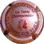 Capsule CHAMPAGNE La Table Champenoise BEAUMONT SUR VESLE Inconnue262 1423