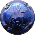 Capsule JM & L CHAMPAGNE DE VIGNERONS 03.25.27.52.73 COTE DES BAR MEHLINGER & FILS 1587