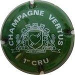 Capsule CHAMPAGNE VERTUS 1er CRU VIVIT POST FUNERA VIRTUS LA GOUTTE D'OR 337