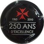 Capsule 1760 2010 250 ANS D'EXCELLENCE LANSON 1491