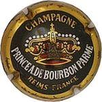 Capsule PRINCE A DE BOURBON PARME CHAMPAGNE REIMS-FRANCE LEPITRE Abel 387