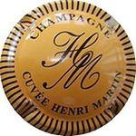 Capsule CHAMPAGNE CUVÉE HENRI MARTIN HM LOPEZ-MARTIN 1338