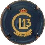 Capsule CHAMPAGNE CLUB 13 CL13 LOURDEAUX Gerard 1480