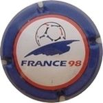 Capsule FRANCE 98 MARNE ET CHAMPAGNE 400