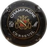 Capsule CHAMPAGNE CERSEUIL CB M MATHELIN 402