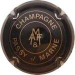 Capsule CHAMPAGNE PASSY s/ MARNE M A F & MERCIER Alain et Fils 408