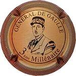 Capsule GENERAL DE GAULLE 3ème Millénaire MIGNON Pierre 522