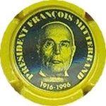 Capsule PRESIDENT FRANCOIS MITTERRAND 1916-1996 HEXA-SYSTEME 48