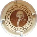 Capsule Cuvée 250ème Anniversaire - 1743-1993 MOET ET CHANDON 525