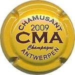 Capsule CMA CHAMUSANT 2008 2009 Champagne ANTWERPEN MOREL Yves 1034