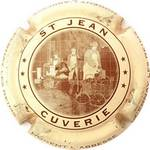 Capsule CUVERIE ST JEAN NOGENT L'ABBESSE CERNAY LES REIMS NOGENT-CERNAY 1898