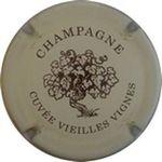 Capsule CHAMPAGNE CUVEE VIEILLES VIGNES PETRE Daniel 544