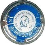 Capsule REPUBLIQUE FRANCAISE 75cl 01 RECOLTANT 05 Capsule Représentative de Droit 497