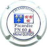 Capsule CHAMPAGNE PICARDIE FN 60 MICHEL GUINIOT ROBERT Jacques 896