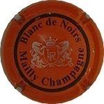 Capsule BLanc de Noirs Mailly Champagne LR ROGUET Lucien 1335
