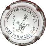 Capsule ARRENTIERES EN FETE 19 ET 20 JUILLET 1997 CHAMPAGNE ROUTE DU CHAMPAGNE 809