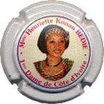 Capsule Mme Henriette Konan BEDIE 1ère Dame de Côte d'Ivoire ROUYER 908